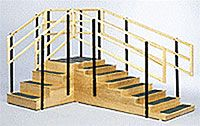 Convertible Exercise Stairs