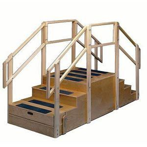 Training Stairs With Bus Step