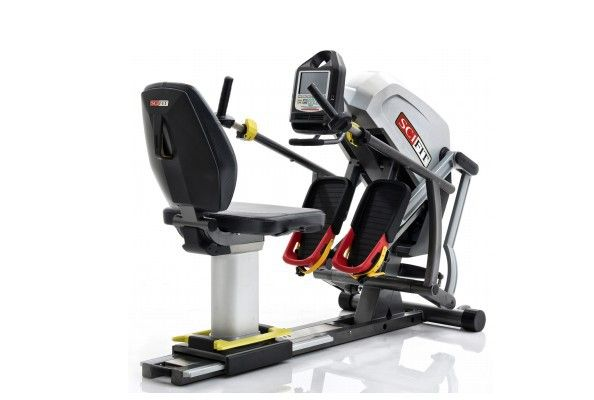 SCIFIT StepOne Recumbent Stepper with Bariatric Seat