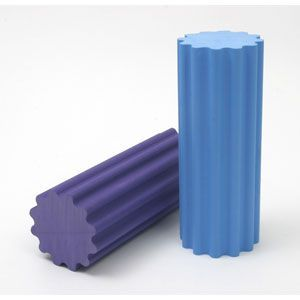 Purple Textured Roller W/Ridges Firm 6