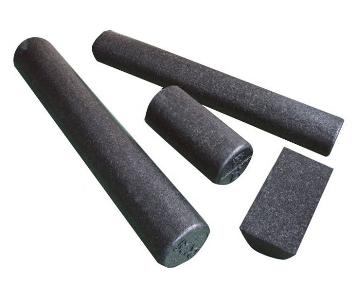 CanDo® High Density Black Foam Therapy Rolls