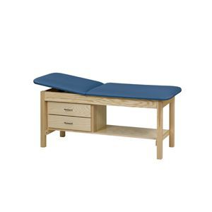 Straight Line Treatment Table With Cabinet And Drawer 27