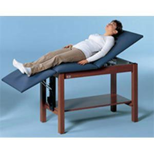 Hausmann Space Saver Table With Backrest