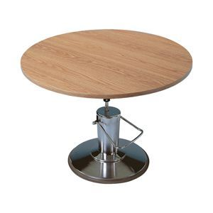 Hausmann Round Hydraulic Lift Table