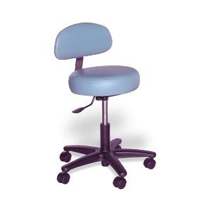 Doctor Stool W/Back Support 18