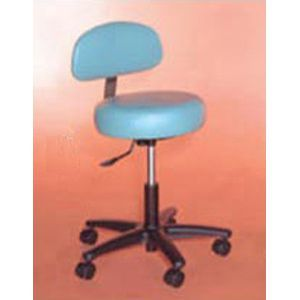 Deluxe Stool With Back 18