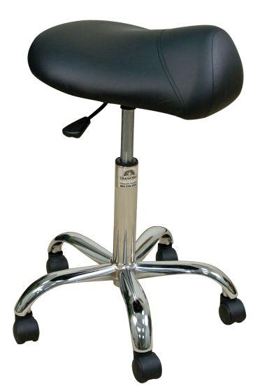 Oakworks® Professional Saddle Stool 19