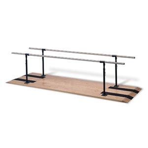 Platform Mounted Heigh Adjustable Parallel Bar 10'