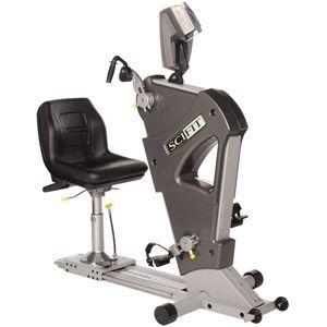SCIFIT Pro2® Recumbent Bike & Ergometer Adj Crank Bar Seat