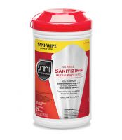 Sani Professional® No-Rinse Sanitizing Multi-Surface Wipes