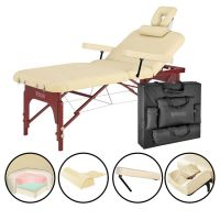"Master® Massage Equipment 31"" Spamaster™ Salon Portable Massage Table Package"