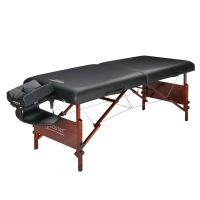 "Master® Massage 30"" Del Ray™ Portable Massage Table Package Black"