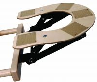 "Custom Craftworks™ 9"" Wooden Deluxe Adjustable Face Cradle Base Only"