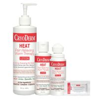 CryoDerm® Heat Pain Relieving Warming Lotions & Products