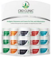 CBD Clinic™ Professional Series CBD Cream & Ointment - Fully Loaded Office Display