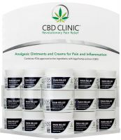 CBD CLINIC™ Clinical Strength Topical Analgesic Display - Level 5
