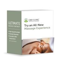 CBD CLINIC™ Massage Ultimate Ointment 1.7g Sample Packet – 60 Ct.