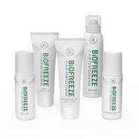 Biofreeze® Professional Buy 10 Tubes, 10 Roll-Ons, 18 360° Sprays GET 10 Mix FREE