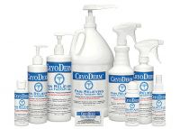 Cryoderm® Pain Relieving Products - Cold Therapy Gels, Sprays & Roll Ons