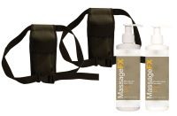 Double Massage Holster Kit for Massage Lotion & Oil Bottles