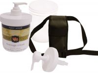 Massage Lotion Holster Kit - Lotus Touch Organic Naturals Cream
