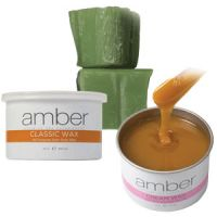 Amber Depilatory Wax - Hair Removal Wax