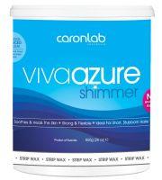 caronlab® Viva Azure Shimmer Strip Wax