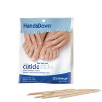 "HandsDown® Birchwood Cuticle Sticks 4"" 100 Count"