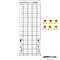 Kent Health Posture Analysis Grid Chart – Original with Grommets