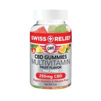 Swiss Relief™ CBD Gummies - 250mg 30 Count