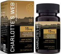 Charlotte's Web 15mg CBD Oil Liquid Capsules
