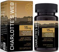 Charlotte's Web 15mg CBD Oil Liquid Capsules