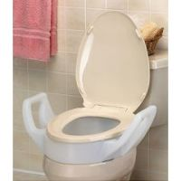 Mabis/DMI Toilet Seat Riser with Arms - Standard Size