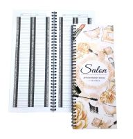 Salon Appointment Book - 2 Columns