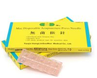 Mac Disposable Acupunture Press Needles .20mm x 1.5mm