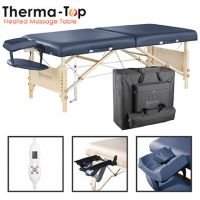 Master Massage Catalina LX Therma Top Portable Table, Royal Blue