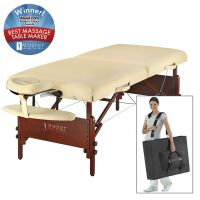 "Master® Massage Equipment 30"" Del Ray™ Portable Massage Table Package Sand"
