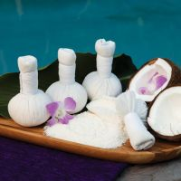 Thai Herbal Massage Balls, Coconut