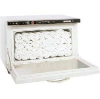NRG® Hot Towel Cabinet With UV Sterilizer + 24 Free Washcloths