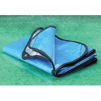 Heavy Duty Mylar Blanket - Reusable & Reflective Surface - Blue