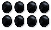 Hot Stone Massage Basalt Large Stone - Set of 8
