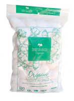 Intrinsics® Organic Cotton Balls Triple-Sized 100 count