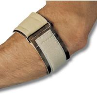 Vinyl Padded Tennis Elbow Brace with Loop - Tennis Elbow Strap