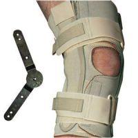 Range Of Motion Hinged Knee Wrap, Open Popliteal