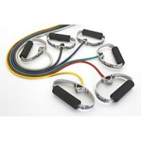TheraBand® Professional Resistance Tubing With Soft Handles- Retail Packaging