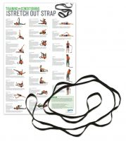 Xl Stretch Out Strap With Training Poster