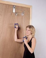 Over The Door Pulley Exerciser, Double Pulleys