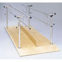 Platform Mounted Parallel Bars for Physical Therapy - Platform 10' x 42""