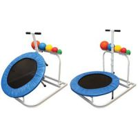 Back At Ya Round Rebounder with Rack & 5 Medicine Balls Package