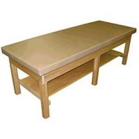 Bariatric Treatment Table With Shelf 1000Lb Cap.